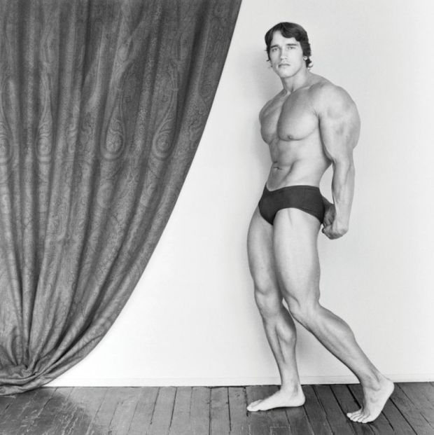 Arnold Schwarzenegger, 1976. © Robert Mapplethorpe Foundation.
