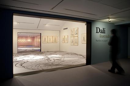 Exposición Dalí Ilustrador © Ignacio Hernando